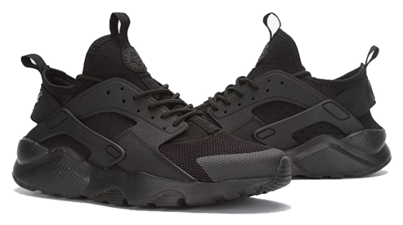 Фото Nike Air Huarache Ultra Черные - 2